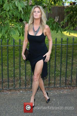 Rachel Hunter - The Serpentine Gallery summer party - Arrivals - London, United Kingdom - Monday 1st July 2013