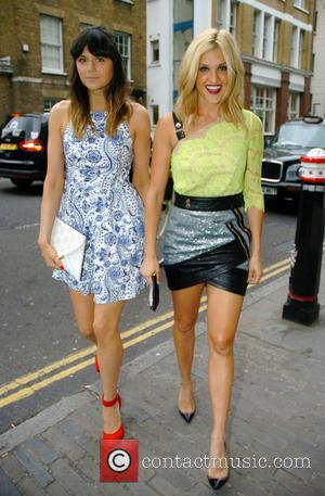 Ashley Roberts and Lilah Parsons