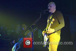 Billy Corgan - The Smashing Pumpkins, fronted by Billy Corgan, playing a headline at the O2 Academy in Glasgow -...