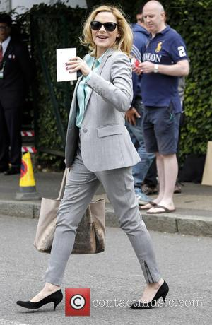 Kim Cattrall - Wimbledon Tennis Championship 2013 - Day 8 - Celebrity Sightings - London, United Kingdom - Tuesday 2nd...