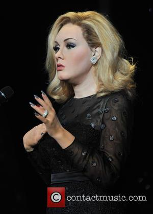 Adele Adkins waxwork - Adele waxwork unveiling held at Madame Tussauds London - London, United Kingdom - Wednesday 3rd July...