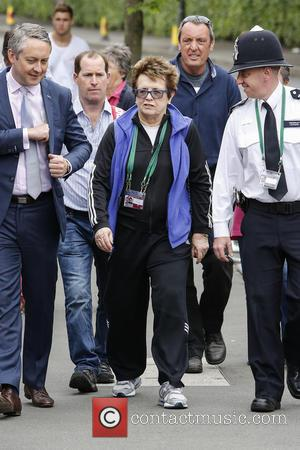 Billie Jean King - Wimbledon Tennis Championship 2013 - Day 9 - Celebrity Sightings - London, United Kingdom - Wednesday...
