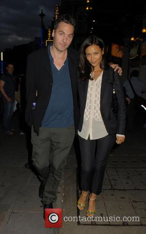 Thandie Newton - 'Private Lives' press night at Gielgud Theatre - Departures - London, United Kingdom - Wednesday 3rd July...