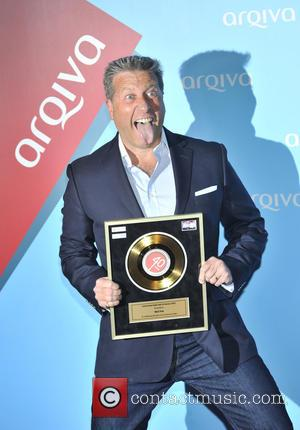 Neil Fox - Arqiva Commercial Radio Awards held at the Park Plaza Westminster Bridge - Arrivals - London, United Kingdom...