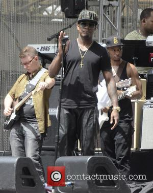 Ne-Yo and Shaffer Chimere Smith