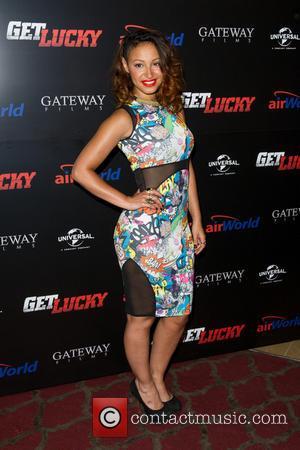 Amelle Berrabah - U.K. Premiere of 'Get Lucky' at the Mayfair Hotel - Arrivals - London, United Kingdom - Thursday...
