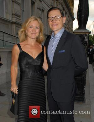 Burn Gorman and Sarah Beard