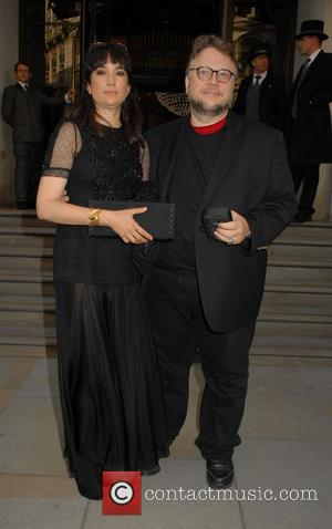 Guillermo Del Toro and Lorenza Newton
