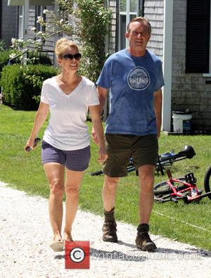 Robert Kennedy Jr and Cheryl Hines - Robert Kennedy Jr. and girlfriend Cheryl Hines enjoying Independence Day together in Hyannis...