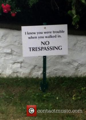 Taylor Swift Quotes Song Lyrics On Trespassing Warning Signs