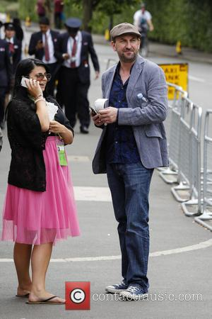 Lee Mack - Wimbledon Tennis Championship 2013 - Day 10 - Celebrity Sightings - London, United Kingdom - Thursday 4th...
