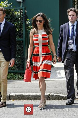 Pippa Middleton - Wimbledon Tennis Championship 2013 - Day 11 - Celebrity Sightings - London, United Kingdom - Thursday 4th...
