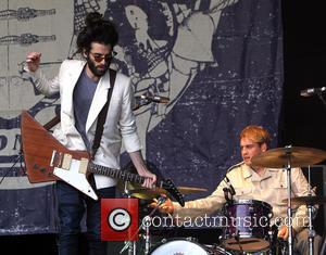 King Charles - King Charles performing on the Pleasant Valley stage on Day One of the Cornbury Music Festival at...