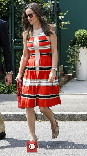 Pippa Middleton - Wimbledon Tennis Championship 2013 - Day 11 - Celebrity Sightings - London, United Kingdom - Friday 5th...