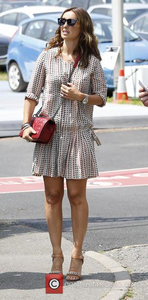 Louise Redknapp - Wimbledon Tennis Championship 2013 - Day 11 - Celebrity Sightings - London, United Kingdom - Friday 5th...