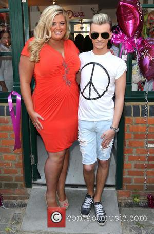 Gemma Collins and Harry Derbidge