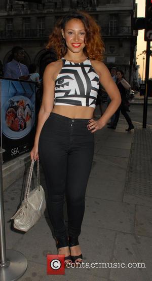 Amelle Berrabah - MYO Fashion Summer Collection 2013 - Show & Party at Aura - Arrivals - London, United Kingdom...