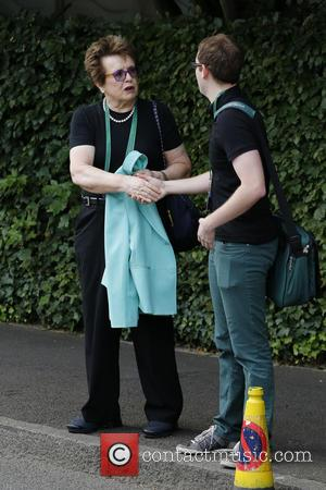 Billie Jean King - Wimbledon Tennis Championship 2013 - Day 12 - Celebrity Sightings - London, United Kingdom - Saturday...