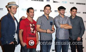 Joey Mcintyre, Danny Wood, Jordan Knight, Donnie Wahlberg, Jonathan Knight and New Kids On The Block
