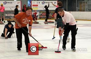 Brendan Fehr - Hollywood Curling hosts Celebrity Charity Curling Match - Valencia, California, United States - Sunday 7th July 2013