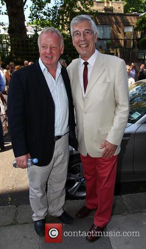 Les Dennis and Jeffrey Holland - The unveiling ceremony of a Blue Plaque dedicated to Eric Sykes at the house...