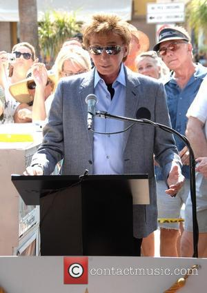 Barry Manilow - KC and the Sunshine Band honoured with a star on The Palm Springs Walk of Stars -...