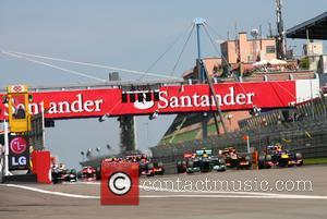 Lewis Hamilton, Sebastian Vettel and Mark Webber