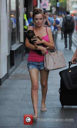 Maria Fowler - Maria Fowler enjoys early evening drinks and a walk in Soho, with close friend Craig Johnson and...