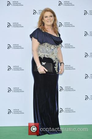 Sarah Ferguson - Novak Djokovic Foundation Event held at the Roundhouse - Arrivals - London, United Kingdom - Monday 8th...