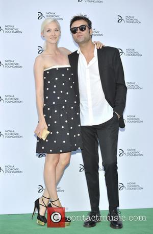 Novak Djokovic, Portia Freeman and Pete Denton