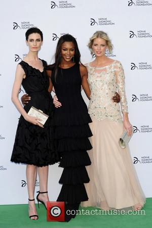 Naomi Campbell, Erin O'connor and Caroline Winberg