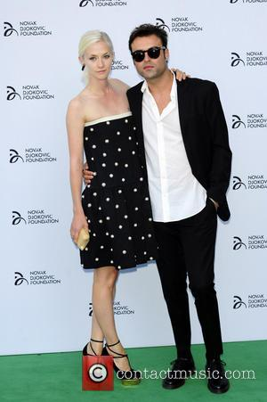 Novak Djokovic and Portia Freeman