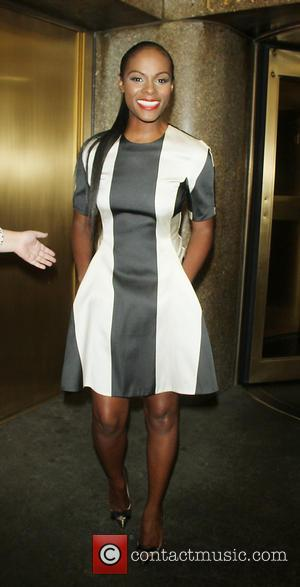 Tika Sumpter - Tika Sumpter at 'New York Live!' and talks about  her new show 'Tyler Perry's The Haves...