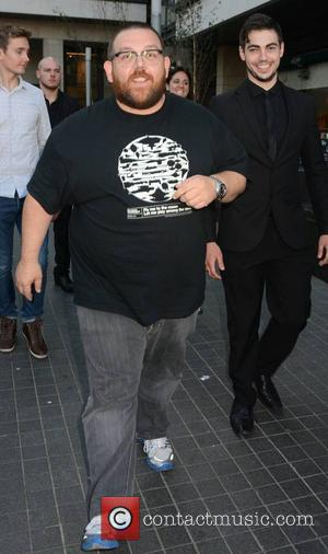 Nick Frost - Irish premiere of 'The World's End' at The Lighthouse Cinema - Dublin, Ireland - Monday 8th July...