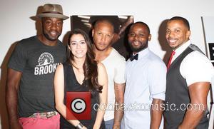 Malik Yoba, Haroula Rose, Guest, Gerard McMurray and Ephraim Walker