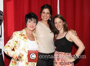 Chita Rivera, Stephanie J. Block and Jessie Mueller - Stephanie J. Block in concert at Birdland Jazz Club - Backstage...