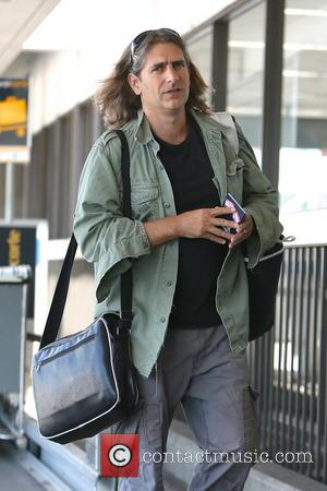 Michael Imperioli - 'Sopranos' star Michael Imperioli seen arriving at LAX Airport - Los Angeles, CA, United States - Tuesday...