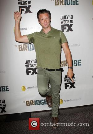 Jacob Pitts - Premiere of FX's 'The Bridge' at DGA Theater - Arrivals - Los Angeles, California, United States -...