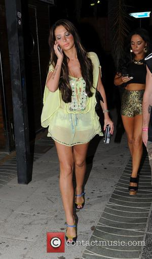 Tulisa Contostavlos - Tulisa Contostavlos out clubbing with friends in San Antonio - Ibiza, Spain - Tuesday 9th July 2013