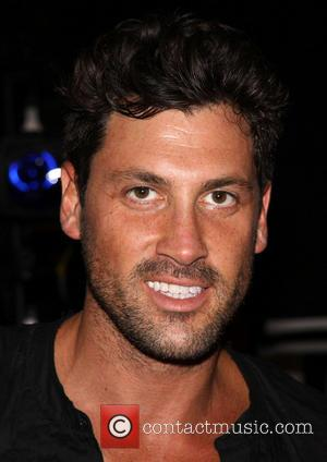 Maksim Chmerkovskiy - First preview of Forever Tango at the Walter Kerr Theatre - Backstage - New York City, NY,...