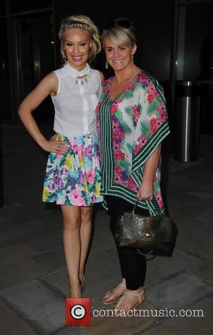 Katie Piper and Sally Lindsay