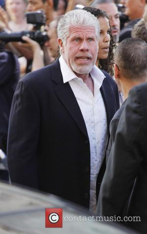 Ron Perlman - Los Angeles premiere of 'Pacific Rim' held at the Dolby Theatre - Outside Arrivals - Los Angeles,...