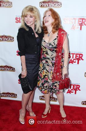 Loni Anderson and Sondra Currie - 'Sister Act' opening night premiere at the Pantages Theatre - Hollywood, California, United States...
