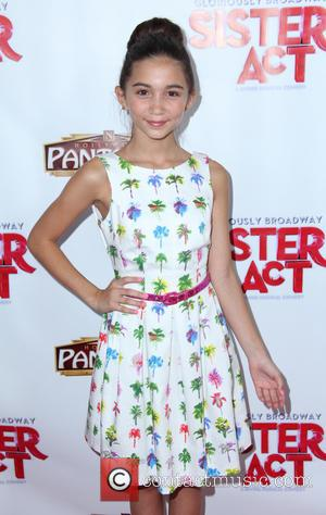 Rowan Blanchard - 'Sister Act' opening night premiere at the Pantages Theatre - Hollywood, California, United States - Tuesday 9th...