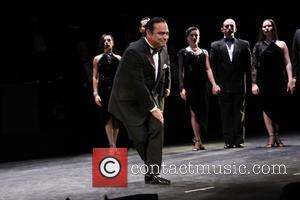 Gilberto Santa Rosa - First preview of Forever Tango at the Walter Kerr Theatre - Curtain Call - New York,...