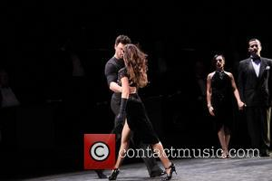 Maksim Chmerkovskiy and Karina Smirnoff - First preview of Forever Tango at the Walter Kerr Theatre - Curtain Call -...