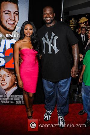 Shaquille O'neal and Nana Meriwether