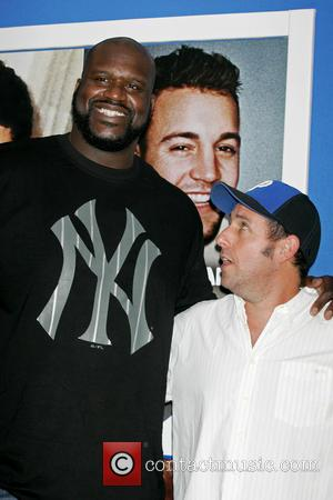 Shaquille O'neal and Adam Sandler