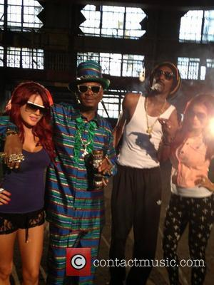 Carla Howe, Bishop Don Magic Juan, Snoop Lion and Melissa Howe