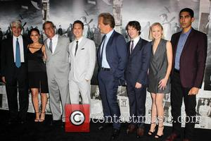 Sam Waterston, Olivia Munn, Aaron Sorkin, Thomas Sadoski, Jeff Daniels, John Gallagher Jr., Alison Pill and Dev Patel